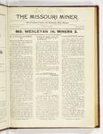 The Missouri Miner, October 23, 1922