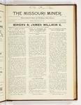 The Missouri Miner, November 20, 1922