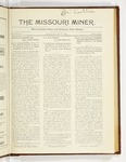 The Missouri Miner, December 11, 1922