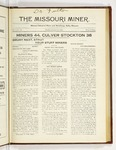 The Missouri Miner, January 15, 1923