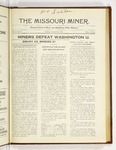 The Missouri Miner, January 22, 1923