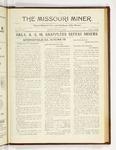 The Missouri Miner, February 19, 1923