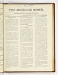 The Missouri Miner, February 26, 1923