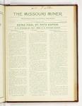 The Missouri Miner, March 19, 1923