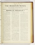 The Missouri Miner, October 29, 1923