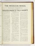 The Missouri Miner, November 12, 1923