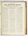 The Missouri Miner, November 26, 1923
