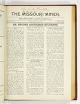 The Missouri Miner, January 21, 1924