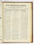 The Missouri Miner, March 31, 1924