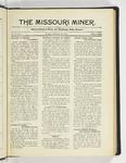 The Missouri Miner, September 29, 1924