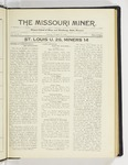 The Missouri Miner, October 13, 1924