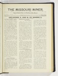 The Missouri Miner, October 20, 1924