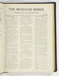 The Missouri Miner, January 12, 1925