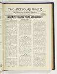 The Missouri Miner, January 26, 1925