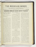 The Missouri Miner, February 02, 1925