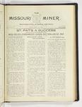 The Missouri Miner, March 16, 1925