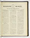 The Missouri Miner, April 27, 1925
