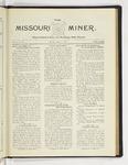 The Missouri Miner, May 11, 1925