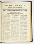 The Missouri Miner, November 07, 1921