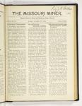 The Missouri Miner, November 21, 1921