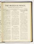 The Missouri Miner, November 28, 1921