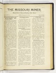 The Missouri Miner, December 12, 1921