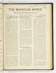 The Missouri Miner, January 23, 1922