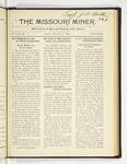 The Missouri Miner, February 13, 1922