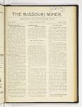 The Missouri Miner, February 20, 1922