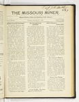 The Missouri Miner, February 27, 1922