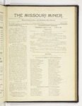 The Missouri Miner, April 30, 1922