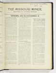 The Missouri Miner, October 12, 1925