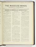 The Missouri Miner, October 26, 1925