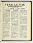 The Missouri Miner, November 16, 1925
