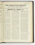 The Missouri Miner, November 23, 1925