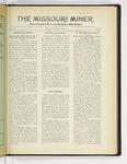 The Missouri Miner, March 22, 1926