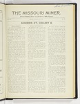 The Missouri Miner, November 15, 1926