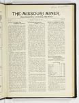 The Missouri Miner, January 24, 1927