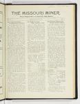 The Missouri Miner, January 31, 1927