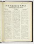 The Missouri Miner, March 21, 1927