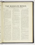 The Missouri Miner, March 28, 1927