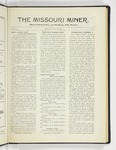 The Missouri Miner, October 10, 1927