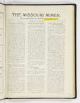 The Missouri Miner, December 12, 1927