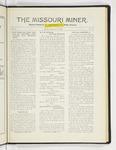 The Missouri Miner, January 30, 1928
