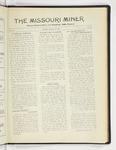 The Missouri Miner, March 26, 1928