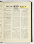 The Missouri Miner, October 22, 1928
