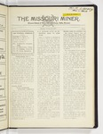 The Missouri Miner, October 29, 1928