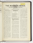 The Missouri Miner, November 12, 1928