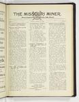 The Missouri Miner, January 21, 1929