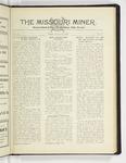 The Missouri Miner, January 28, 1929